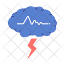 Echo Examination Brain Icon