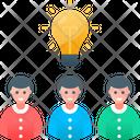 Brainstorm Idea People Icon