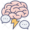 Creative Brain Inspiration Icon