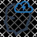 Brainstorm Brainstorming Cloud Icon