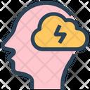 Seo Head Cloud Icon