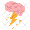 Brain Thinking Brainstorm Icon