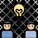 Brainstorm Creative Idea Icon