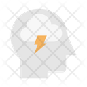 Brainstorm Pain Head Icon