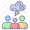 Brainstorm Discussion Team Icon