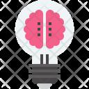 Brainstorm Bulb Creativity Icon