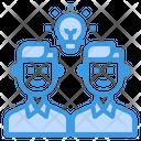 Brainstorm Team Management Icon