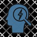Brainstorm Thunder Thinking Icon