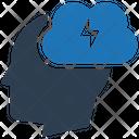 Brainstorm Creativity Mind Icon