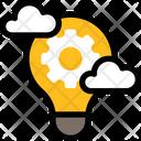 Brainstorm Brainstorming Idea Icon