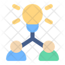 Brainstorm Idea Team Icon