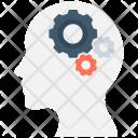 Brainstorm Frustration Mind Icon