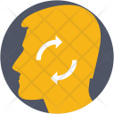 Brainstorm Refresh Thinking Icon