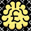 Brainstorm Pound Brainstorm Money Icon