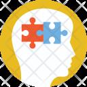 Brainstorming Thinking Brain Icon