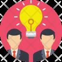 Brainstorming Innovation Teamwork Icon