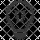 Brainstorming Bulb Creativity Icon