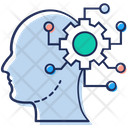 Brainstorming Brain Development Artificial Intelligence Icon