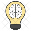 Brainstorming Creative Thinking Creative Brain Icon