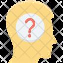 Brainstorming Confuse Brain Icon
