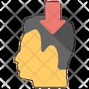 Brainstorming Human Head Icon