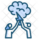Business Brainstorming Office Icon