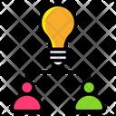 Brainstorming Brain Intelligence Human Intelligence Icon