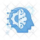 Machine Learning Brainstorming Brain Intelligence Icon