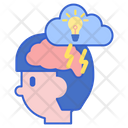 Brainstorming Stroming Idea Icon