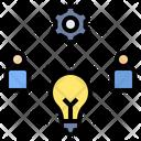 Brainstorming Creative Thinking Idea Icon