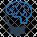 Brainstorming Concept Creativity Icon