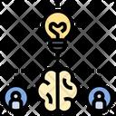 Brainstorming Startup Incubator Icon