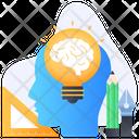 Brainstorming Creative Thinking Creative Brain Icon