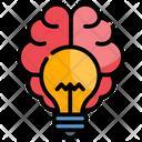 Brainstorming Mind Brain Icon