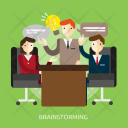 Brainstorming Business Concept Icon