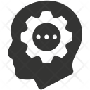 Brainstorming Head Strategy Icon