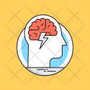 Brainstorming Brain Intelligence Icon