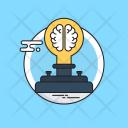 Brainstorming Frustration Mind Icon