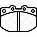 Brake Pad Racing Icon