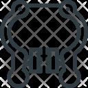 Brake Caliper Deceleration Icon