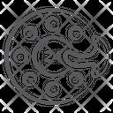 Auto Brake Brake Disc Brake Caliper Icon