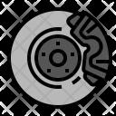 Car Rotor Brake Icon