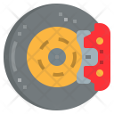 Brake Pads Parts Icon