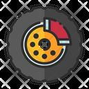 Brakes Disc Brake Oil Brake Icon
