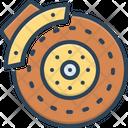 Brakes Pad Disk Icon