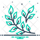 Branch Leaves Greenery Icon