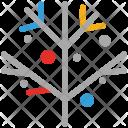 Branch Mistletoe Plant Icon