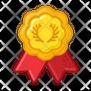 Branch Medal Prize Icon