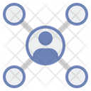Branch Network Icon