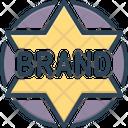 Brand Label Tag Icon